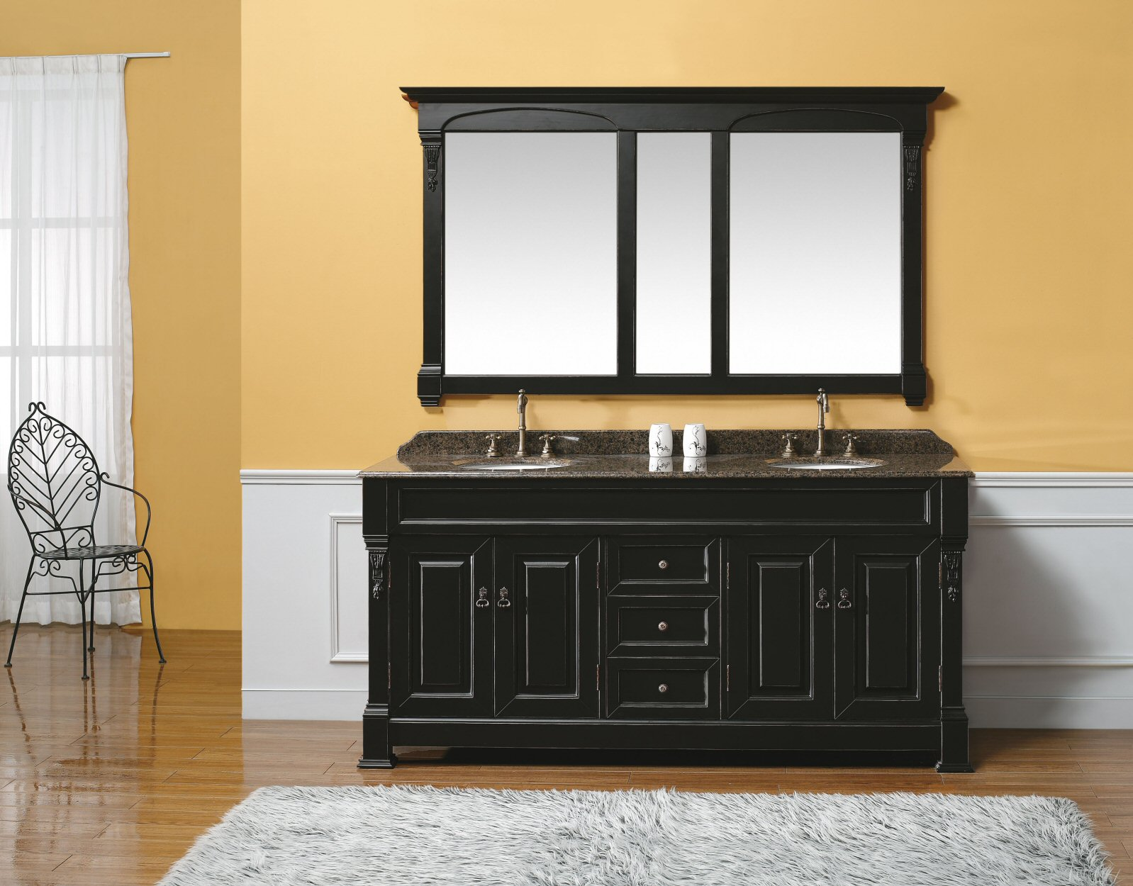 Handcrafted Bathroom Vanities Cabinets