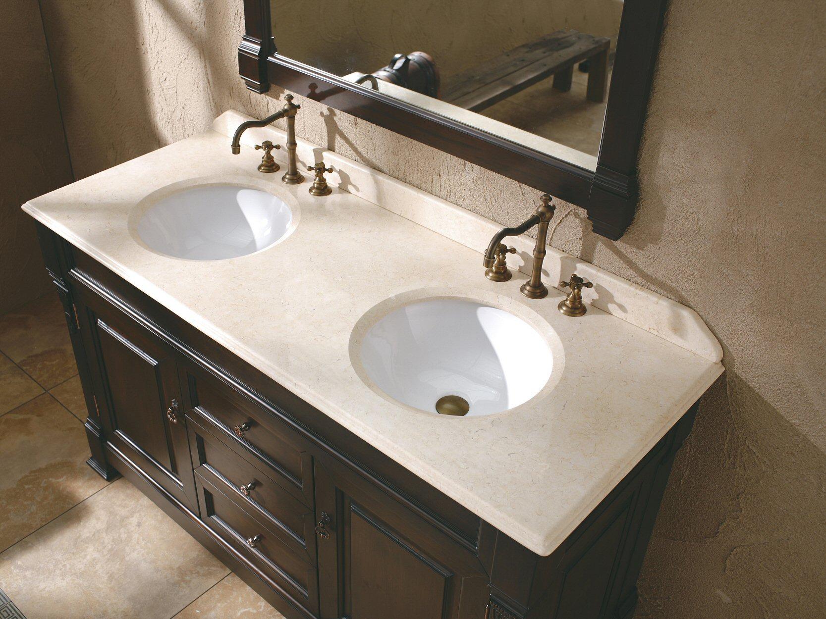 The 72 Ms 1072 Traditional Double Sink Bathroom Vanity